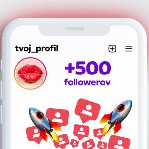 kúpiť 500 followerov pre instagram