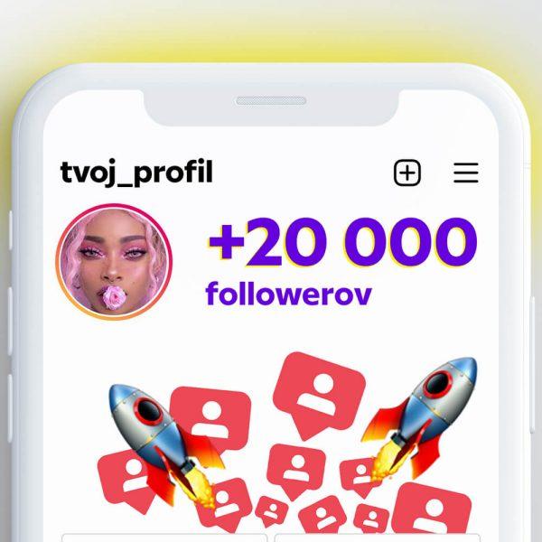 kúpiť 20000 followerov pre instagram