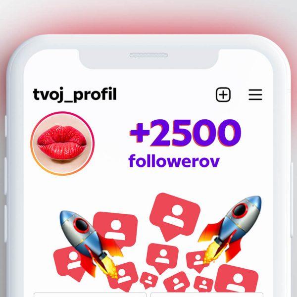 kúpiť 2500 followerov pre instagram