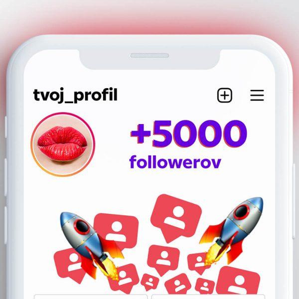 kúpiť 5000 followerov pre instagram
