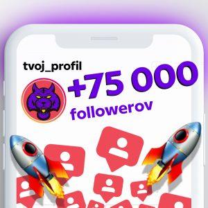 kúpiť 75000 followerov pre instagram