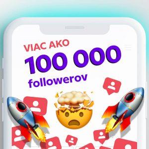 kúpiť viac ako 100000 followerov pre instagram